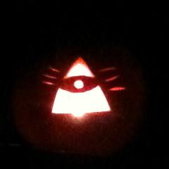 Illuminati pumpkin
