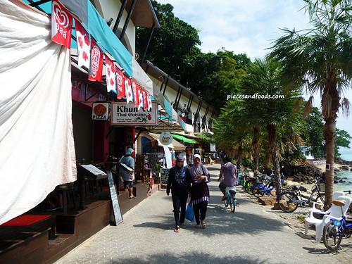 phi phi island shops