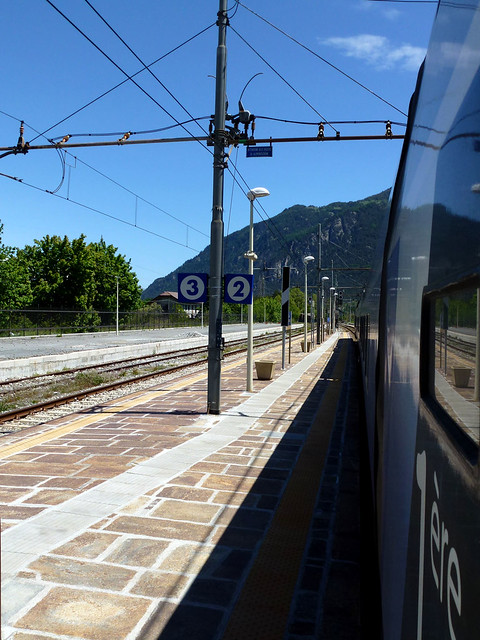 Florence - jour 1 - 011 - Gare de Bardonecchia