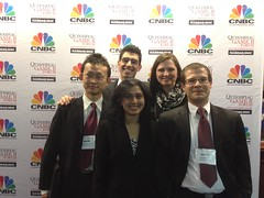 Image of the GMIC team at the G.A.M.E. Forum in NYC