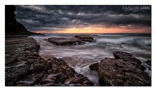 sun seascape landscape island dramatic theeyeofthestorm rockshelf sydneynorthernbeaches nikond800 jasonpang nikon1635mm jasonpangphotography singhraydarylbenson4stopreversegnd