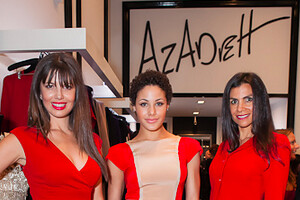 Azadeh Supports the American Red Cross