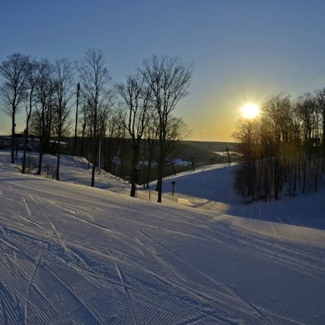 Perfect morning at Boyne Mt.