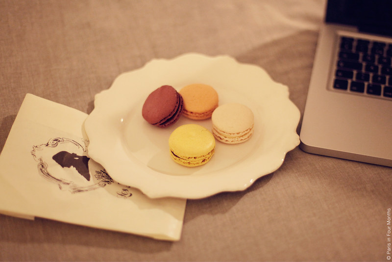 Macarons in bed by Carin Olsson (Paris in Four Months)
