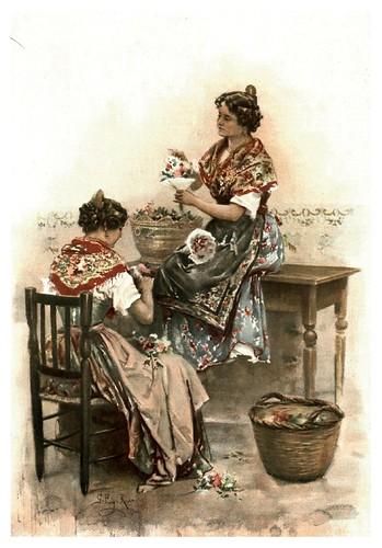 013-Las floristas- Gabril Puig-Roda- Album Salon 01-1907- Hemeroteca digital de la Biblioteca Nacional de España