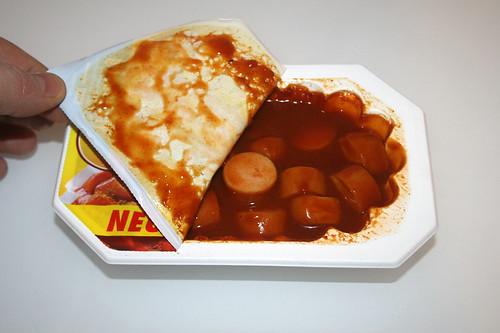 07 - Meica Curry King Geflügel - Schale öffnen
