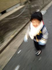 走るとらちゃん 2013/1/12