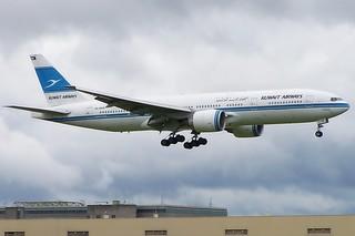 9K-AOA Boeing 777 Kuwait Airways