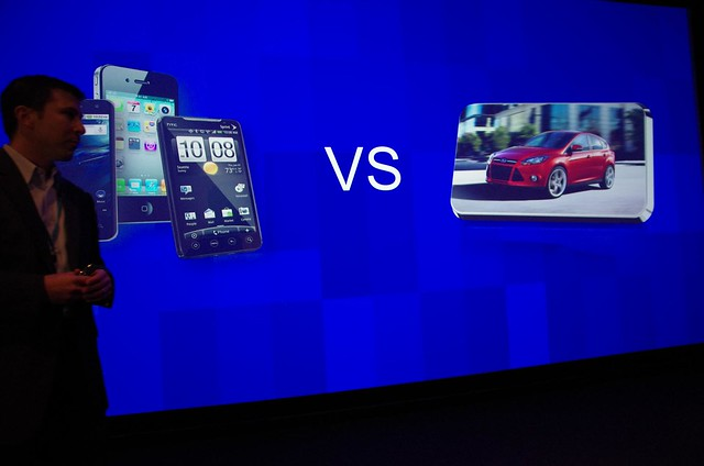Young people are choosing Smartphones & Tablets over Cars