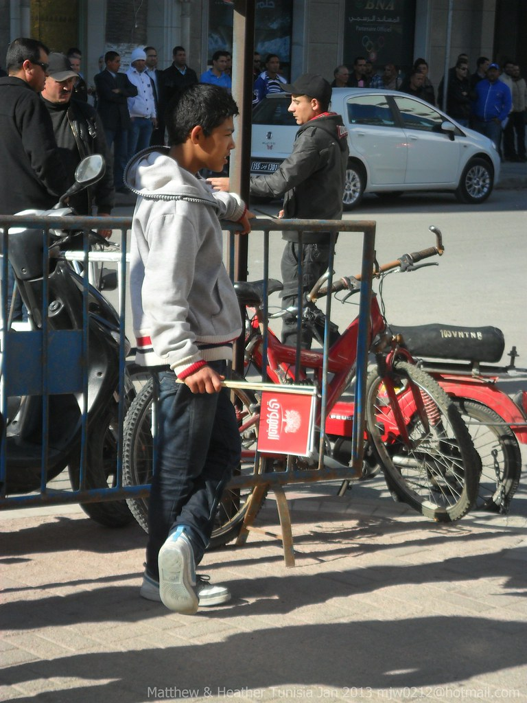 Young boy in Sousse, Tunisia