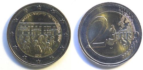 2 Euros de Malta del 2012