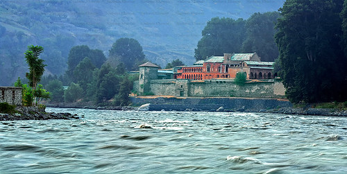 Chitral Fort. by Nadeem Khawar.