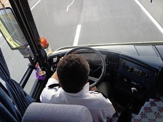 Motorista do autocarro desde Mashaad  ate Teerao