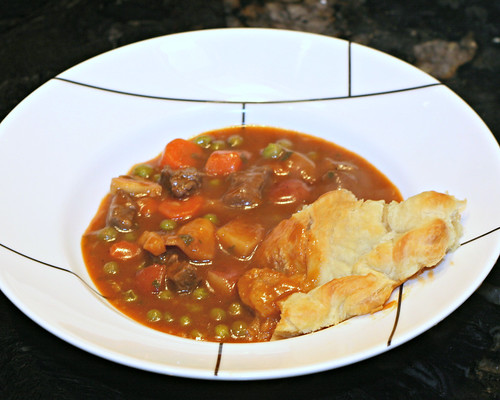 Beef Tenderloin and Vegetable Pot Pie
