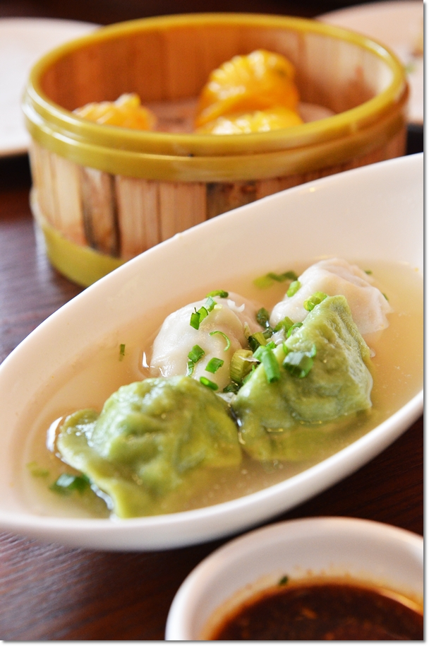 Two Varieties Dumplings with Chicken Stock