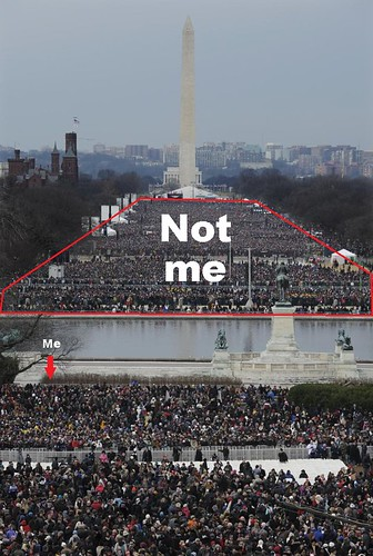 Inaugural crowd