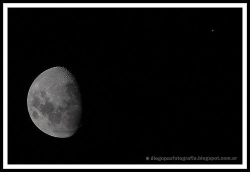 Luna y Júpiter by diegol72