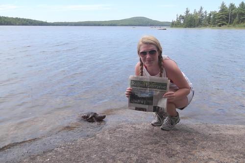 Turtle, Eagle Lake, Maine