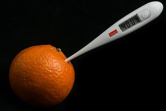 021 / 365 - Mandarine to 40°C // Mandarine auf 40°C