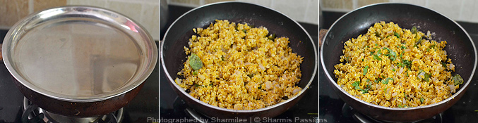 How to make oats upma - Step3