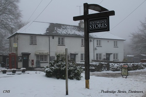 Postbridge -   Dartmoor - 23rd January 2013 by Stocker Images
