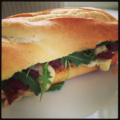 Chorizo Mozzarella Sandwich