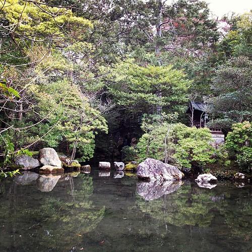 金地院 庭園