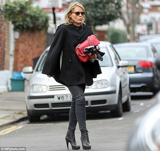 Patsy Kensit Cape Coat Celebrity Style Women's Fashion