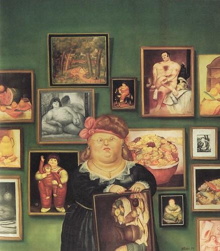 [ B ] Fernando Botero -Collector (1974) by Cea.