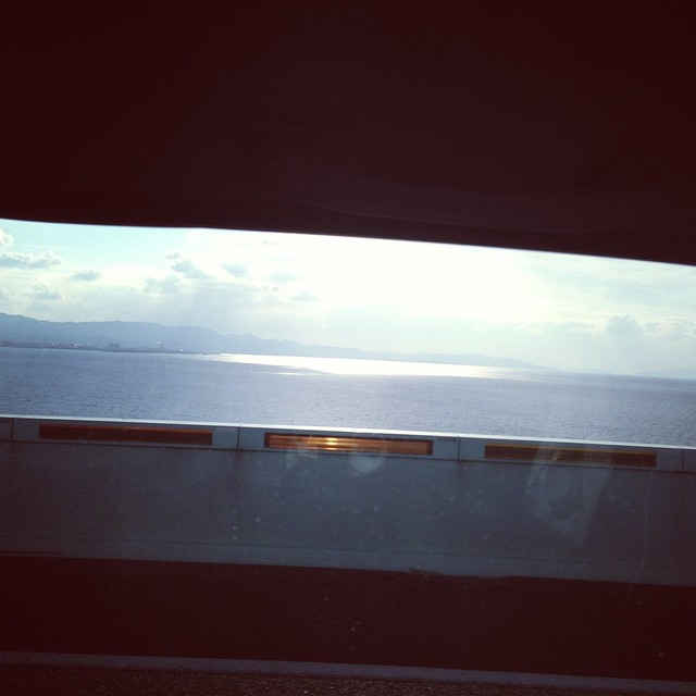 On The Bridge To Kansai Int'l Airport