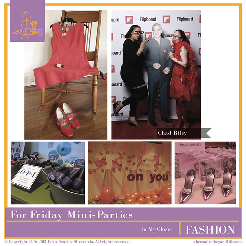 Outfit 6: #AltSummit Mini-Parties #Flipboard #GoMighty #RedEnvelope #BHG #OPI