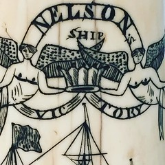 scrimshaw-- peabody essex museum has largest endowment in america-- booty from china trade