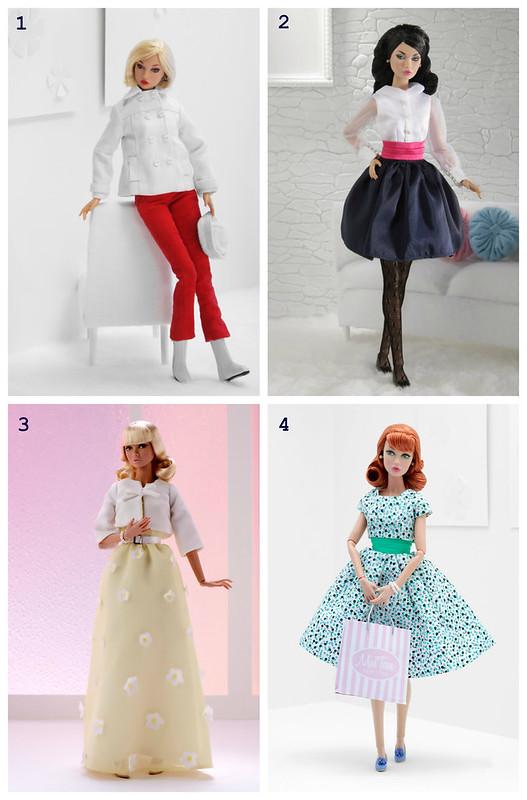 Poppy fashions.