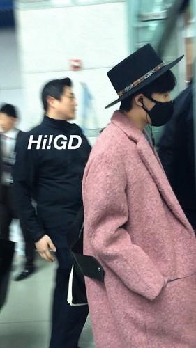 Big Bang - Incheon Airport - 21mar2015 - G-Dragon - Hi GD - 09