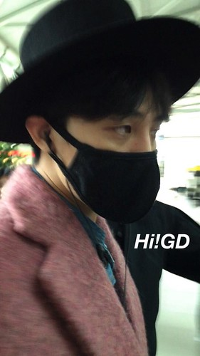 Big Bang - Incheon Airport - 21mar2015 - G-Dragon - Hi GD - 07