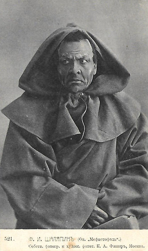 Feodor Chaliapin in Mephisto
