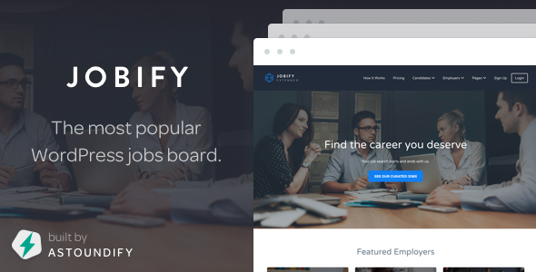 Jobify v3.6.1 - WordPress Job Board Theme