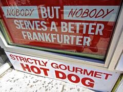 Strictly Gourmet Hot Dog, New York, NY