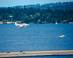 TA-4J DOING A LOW & DIRTY PASS OVER THE I-90 FLOATING BRIDGE