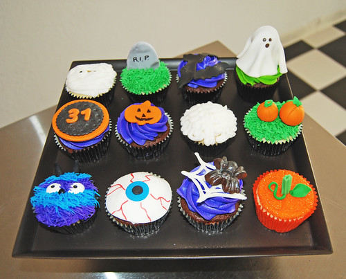 Simply Sweets Hallloween Cupcakes Class- Wednesday 17th