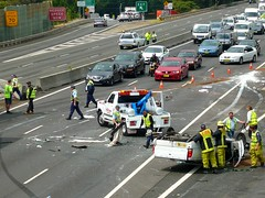 Multi vehicle accident - M4 Motorway, Sydney, NSW