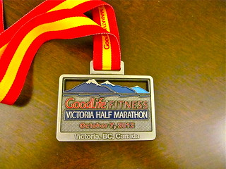 Victoria Half Marathon 2012
