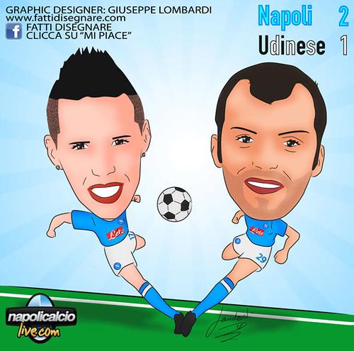 Napoli-Udinese (2-1) by Giuseppe Lombardi