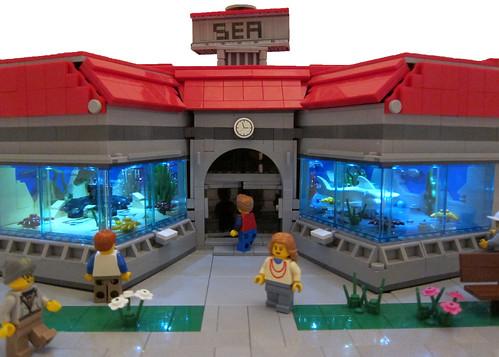 Lego Sea Land