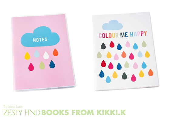 {zesty find} books from kikki k