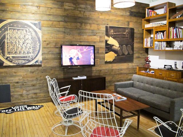 Vans Showroom Office