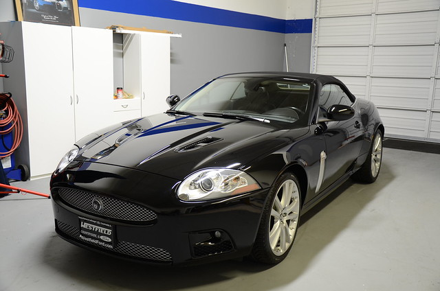 Jaguar XKR Paint Correction Detail