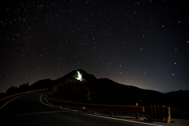 石門山的星空
