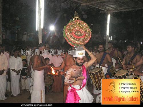 Chuzhali Bhagawathi Temple Festival 2012
