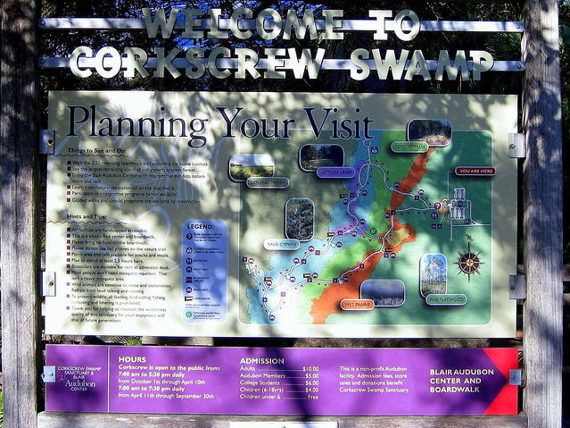 Corkscrew Swamp sign2 20120131